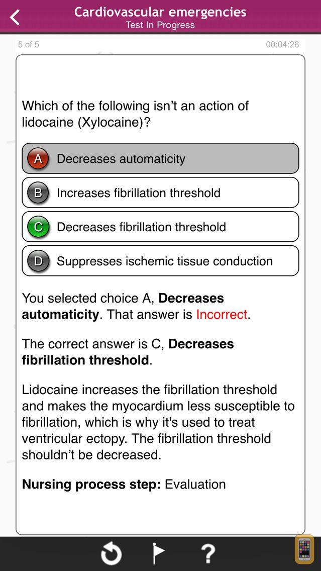 Screenshot - Emergency Nursing - Lippincott Q&A Certification Review