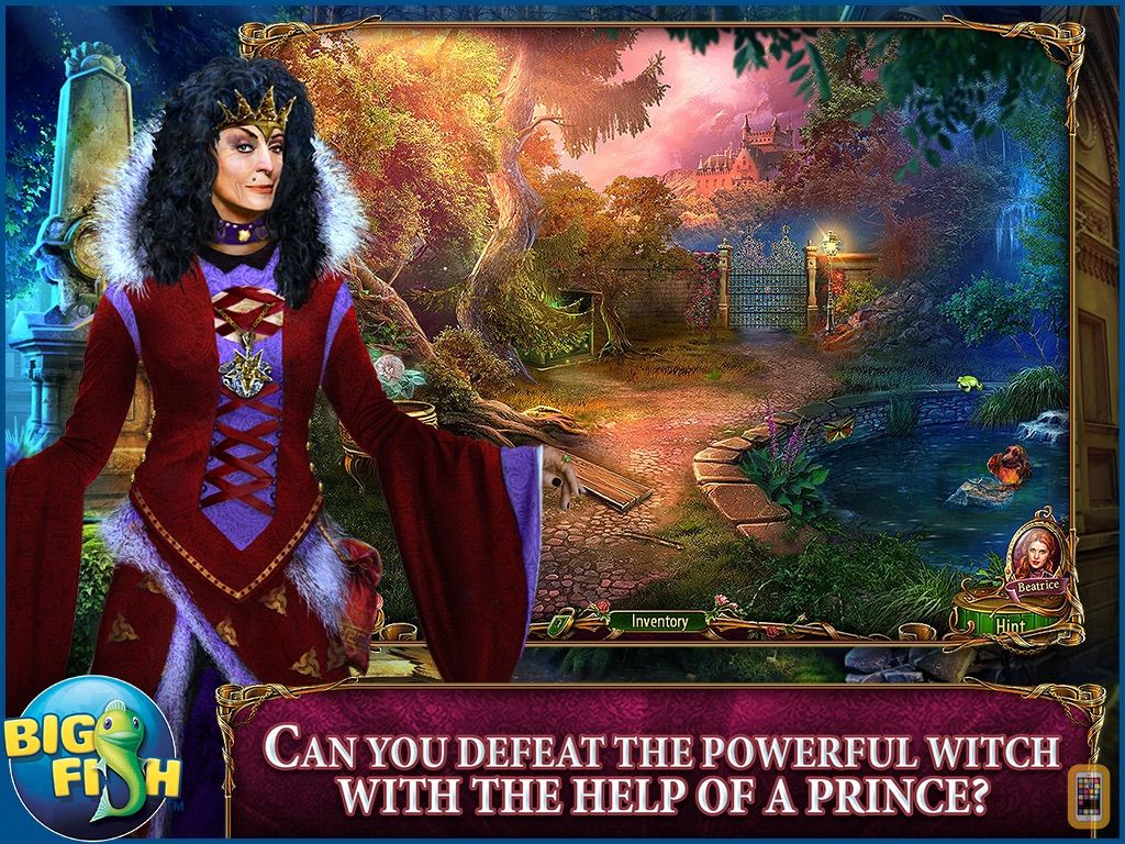Screenshot - Dark Romance: Heart of the Beast HD - A Hidden Object Adventure (Full)