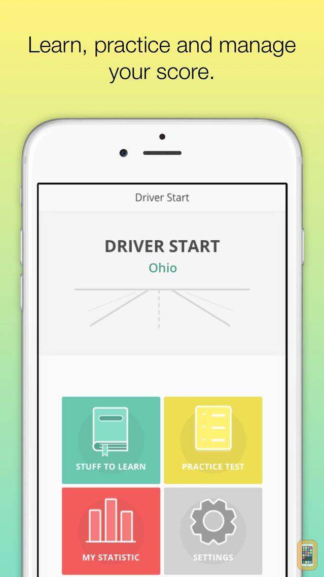 Screenshot - Ohio BMV Driver License Test - prepare for the Ohio state driving knowledge test