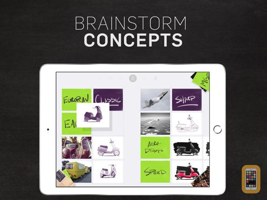 Screenshot - Forge - Brainstorm and organize your ideas