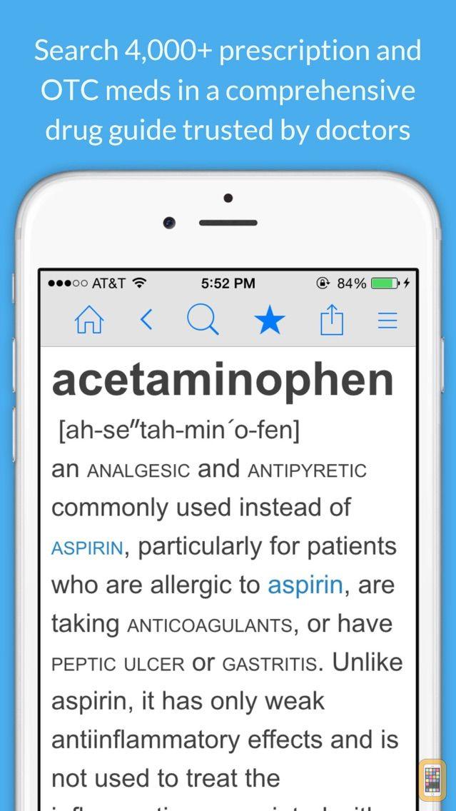 Screenshot - Medicine Dictionary
