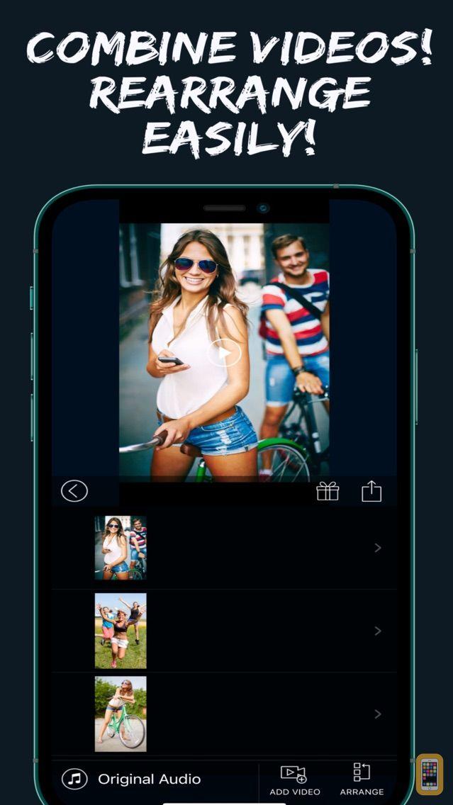 Screenshot - Video Editor - Merge, Add Text