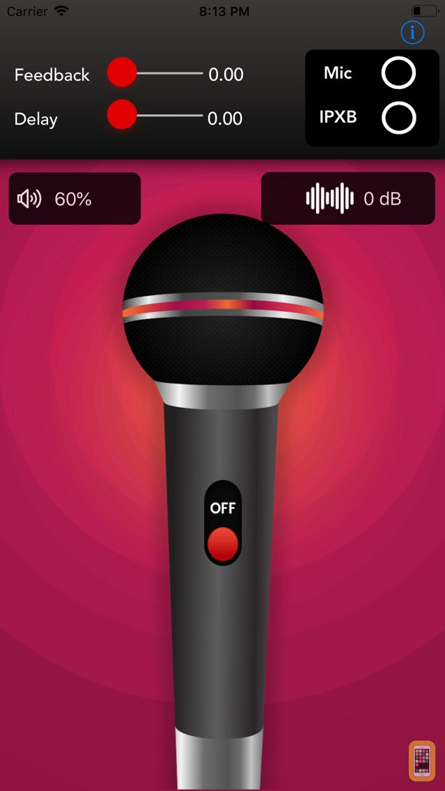 Screenshot - Mega Mic Microphone Megaphone AUX Bluetooth