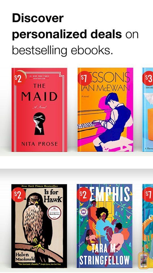 Screenshot - BookBub