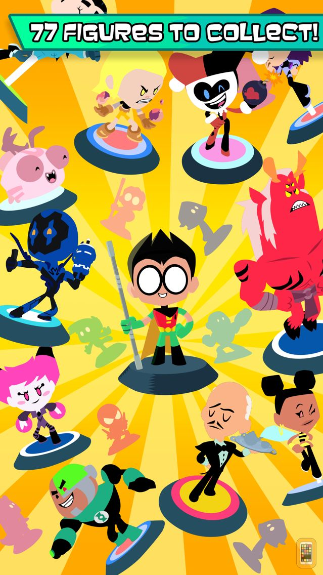 Screenshot - Teeny Titans - Teen Titans Go! Figure Battles
