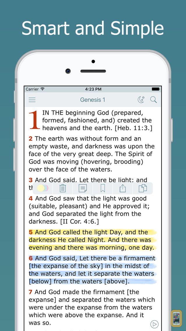 Screenshot - Amplified Bible with Audio