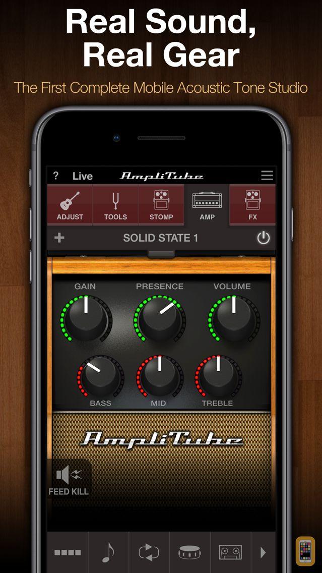 Screenshot - AmpliTube Acoustic