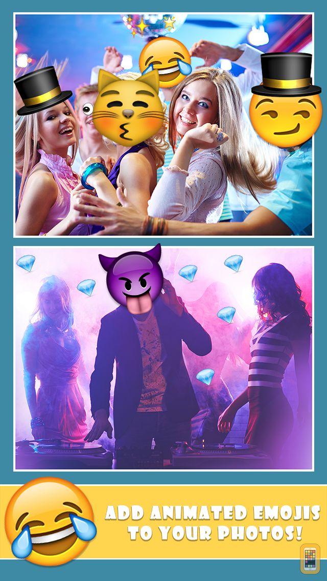 Screenshot - Emoji GIF Maker - Make Animated Gifs with Emoticons