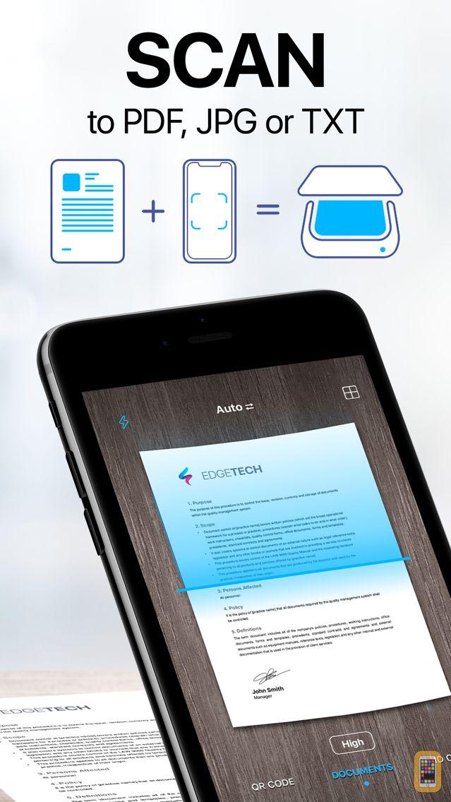 Screenshot - Scanner App: PDF Document Scan