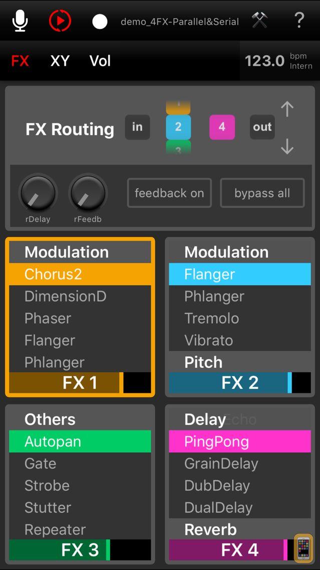 Screenshot - Elastic FX