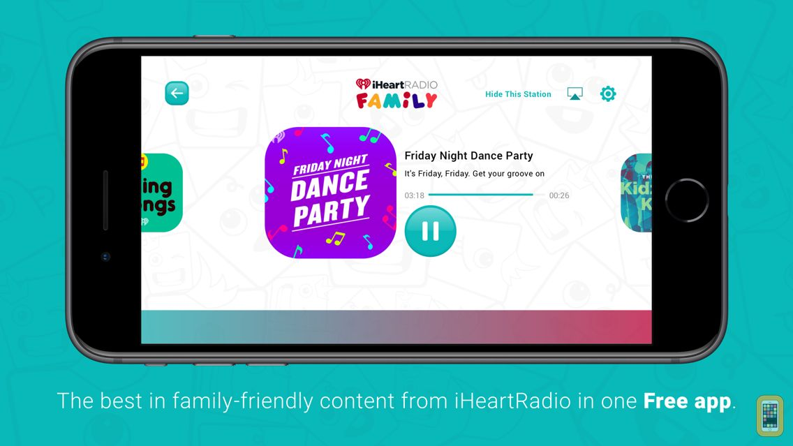 Screenshot - iHeartRadio Family