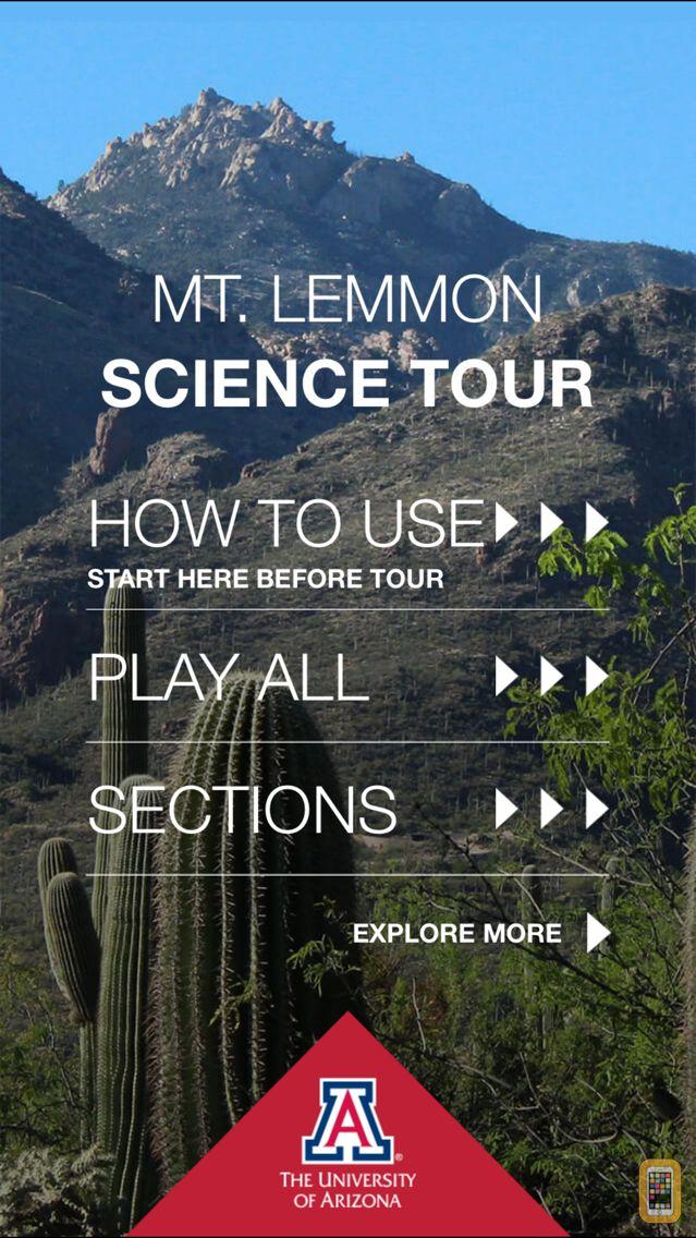 Screenshot - Mt. Lemmon Science Tour