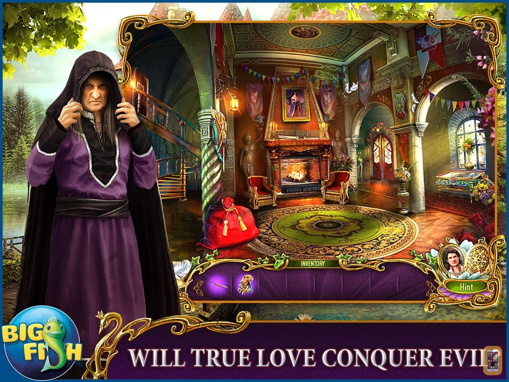 Screenshot - Dark Romance: The Swan Sonata HD - A Mystery Hidden Object Game (Full)