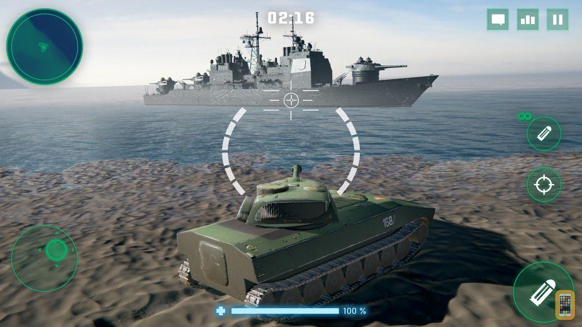 Screenshot - War Machines: Tank Action Game