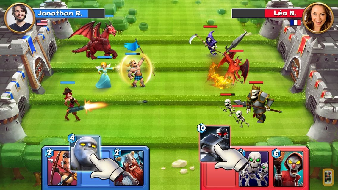Screenshot - Castle Crush: War Brawl Games