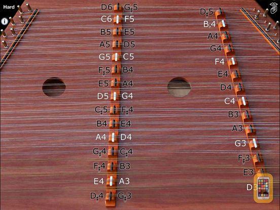 Screenshot - Trapezoid - Hammered Dulcimer