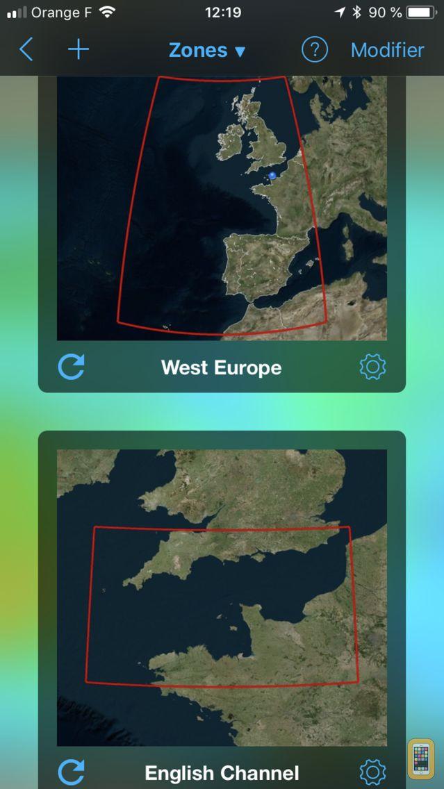 Screenshot - Weather4D Routing & Navigation