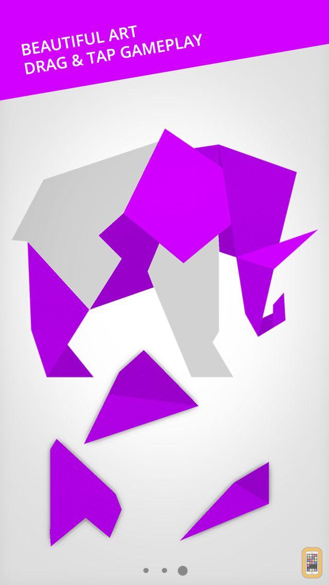 Screenshot - Cardinal Land - Jigsaw & Tangram Puzzle Blend