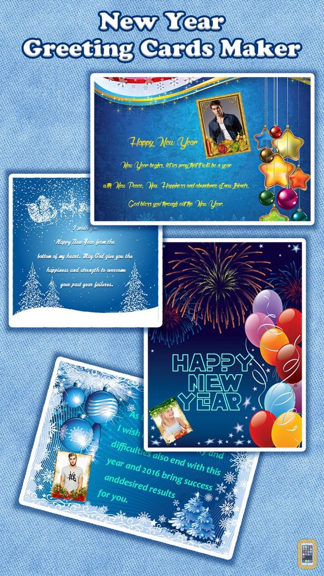 Screenshot - Love Greeting Cards Maker - Collage Photo with Holiday Frames, Quotes & Stickers to Send Wishes
