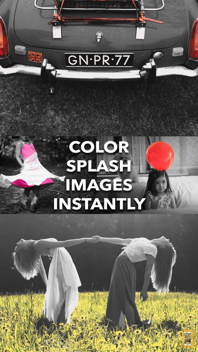 Screenshot - Depello - color splash photos