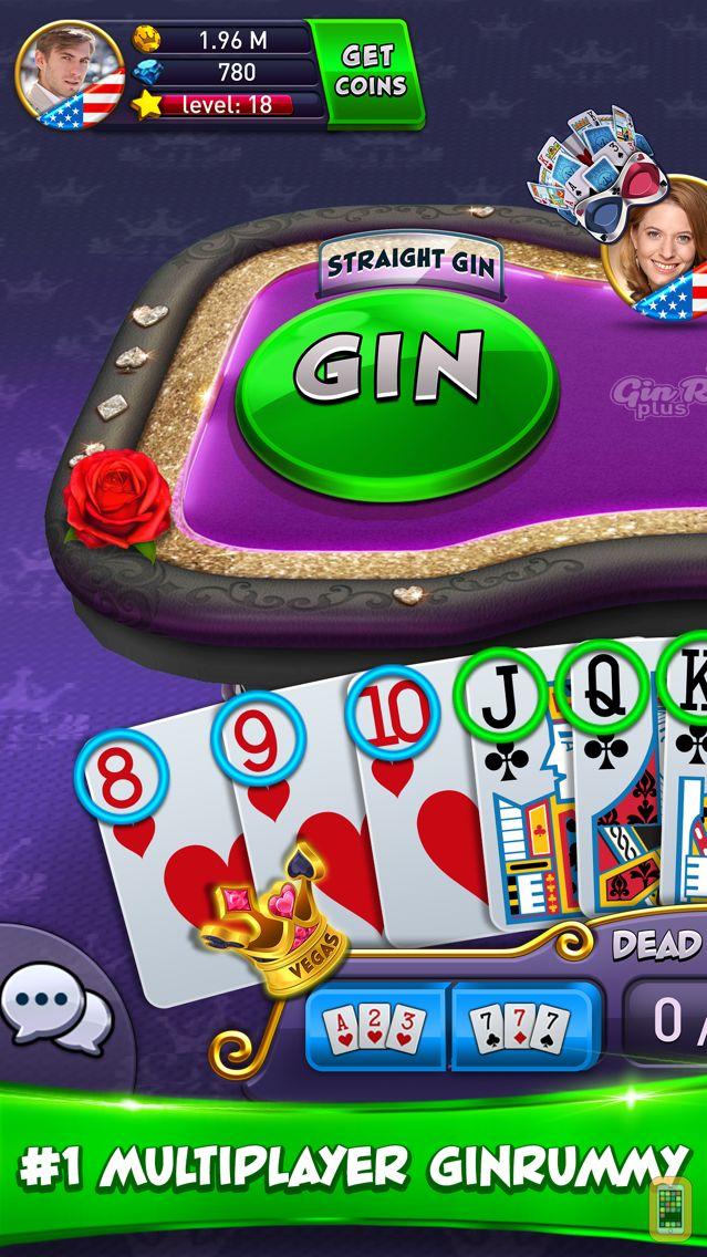 Screenshot - Gin Rummy Plus - Card Game