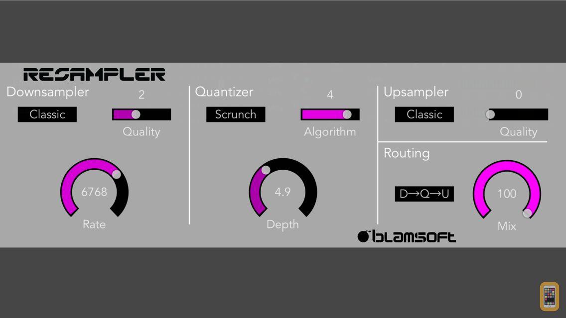 Screenshot - Resampler Bitcrusher