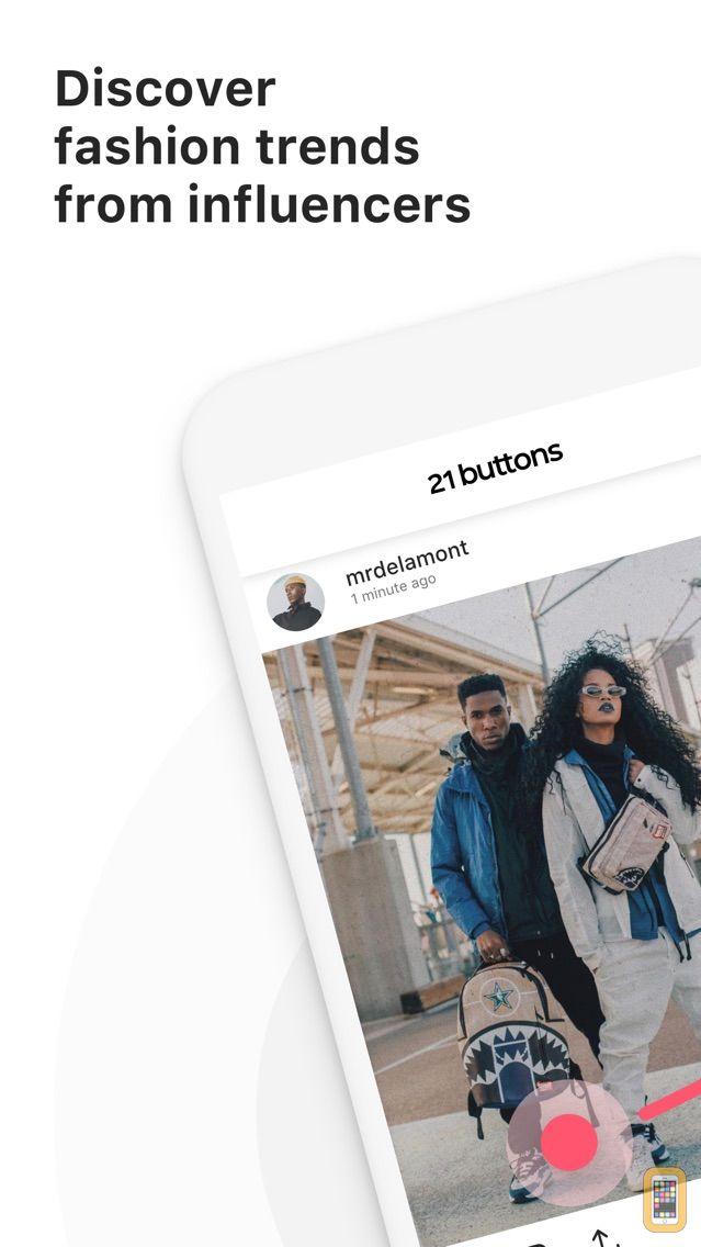 Screenshot - 21 Buttons: Fashion Network
