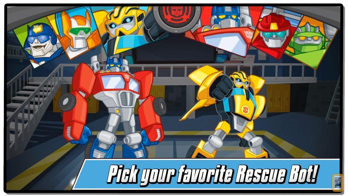 Screenshot - Transformers Rescue Bots: Hero