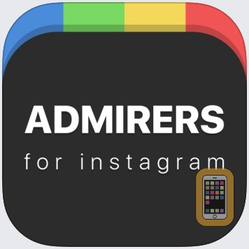 Secret Admirers – Viewed  Who Doesn't Follow Me But Likes My Instagram Stuff by APPiarist (Universal)