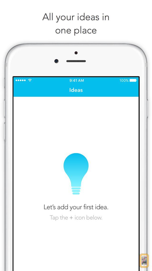 Screenshot - Visions - An Idea Log Based on Y Combinator