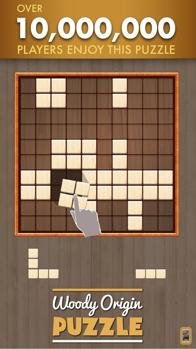 Wooden Block Puzzle Game For IPhone IPad App Info Stats IOSnoops Beauteous Games With Wooden Blocks