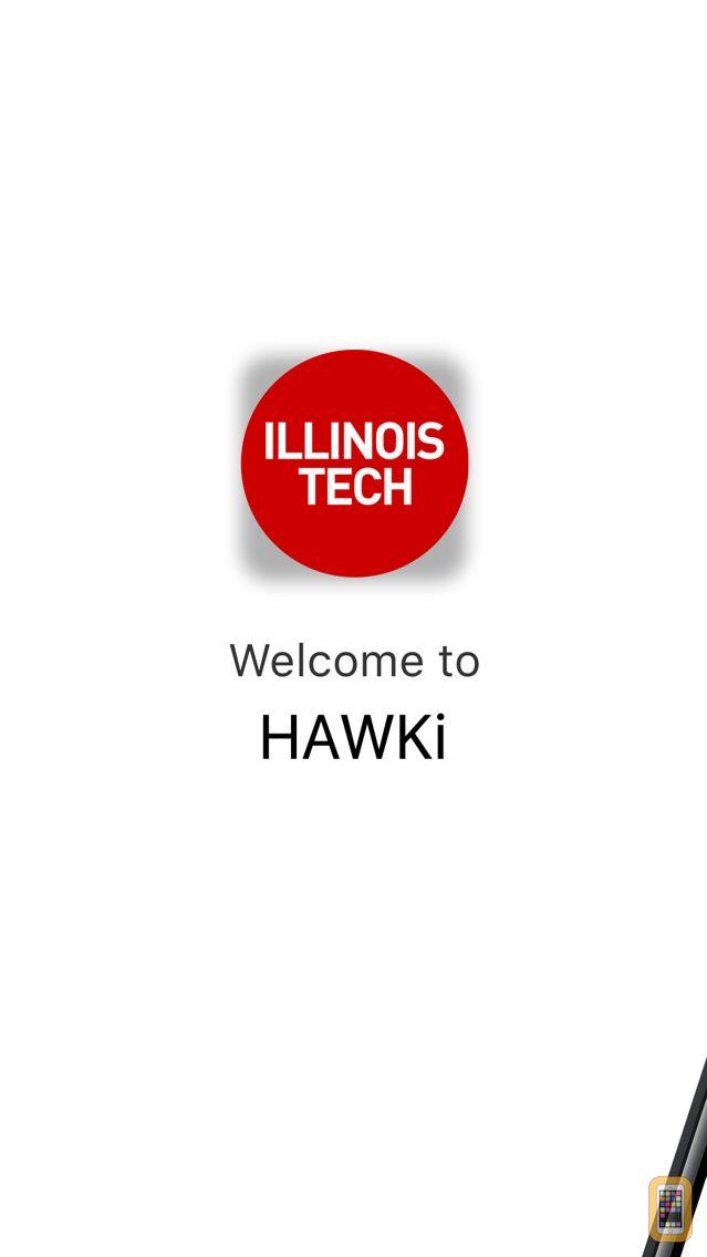 Screenshot - Illinois Tech Mobile - HAWKi