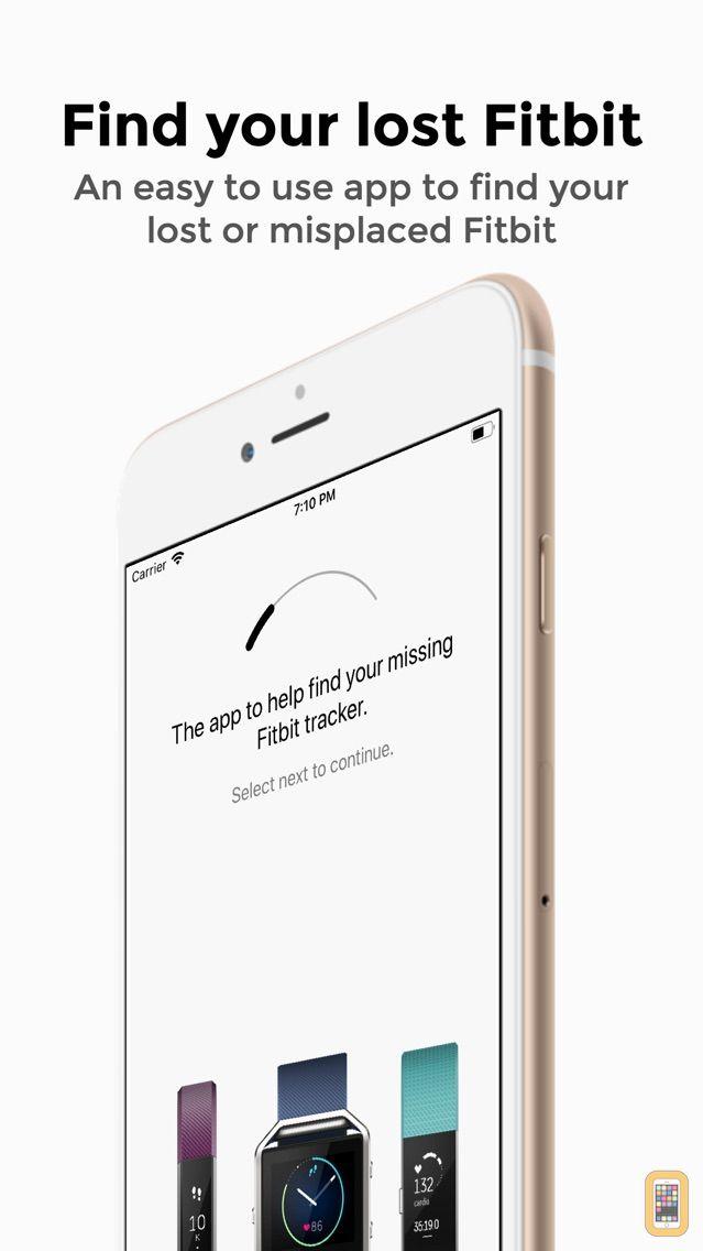 Screenshot - Finder for Fitbit