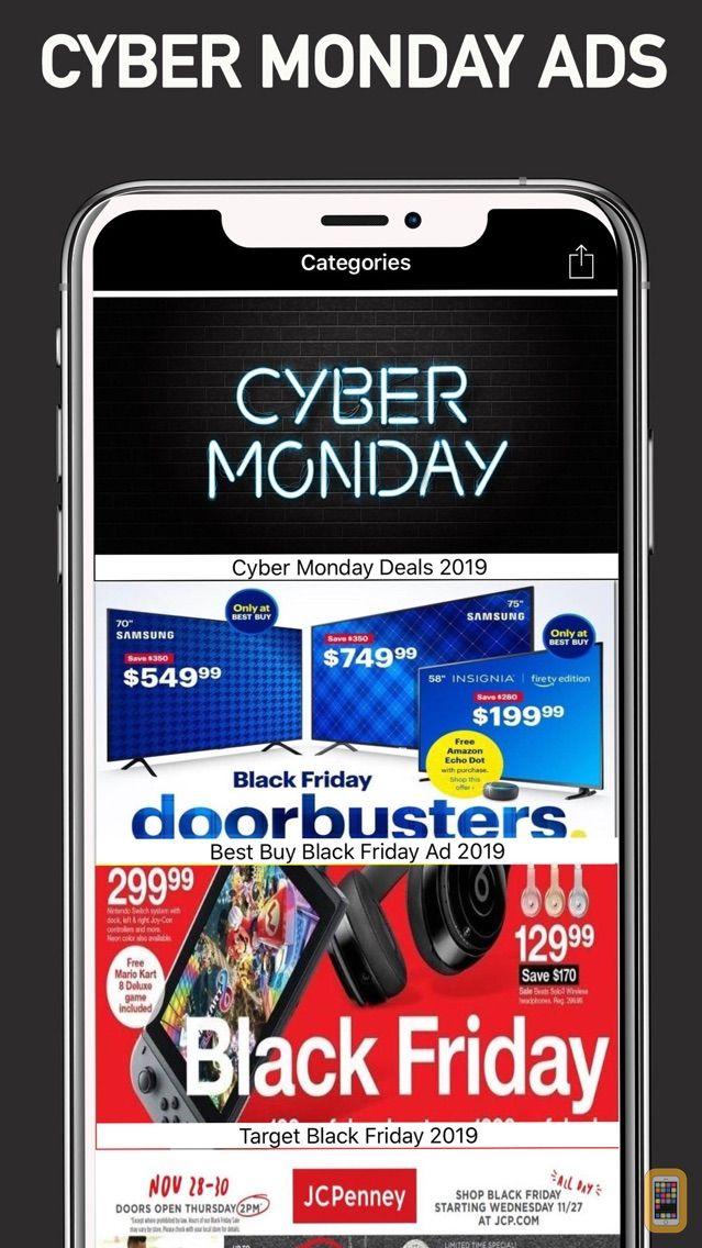Screenshot - Cyber Monday Ads & Deals 2020