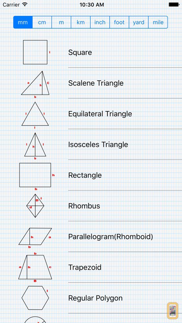 Screenshot - GeometryCalc