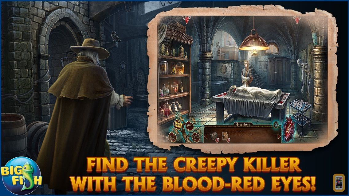 Screenshot - Dark Tales: Edgar Allan Poe's The Tell-tale Heart - A Hidden Object Mystery (Full)