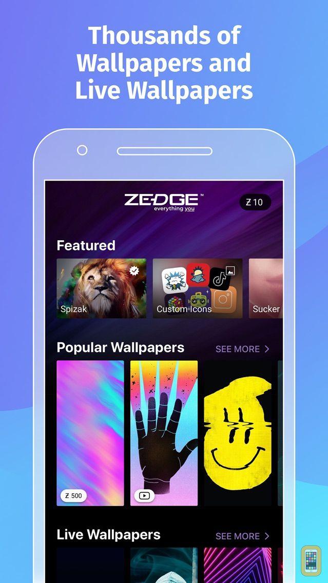 Screenshot - ZEDGE™ Wallpapers