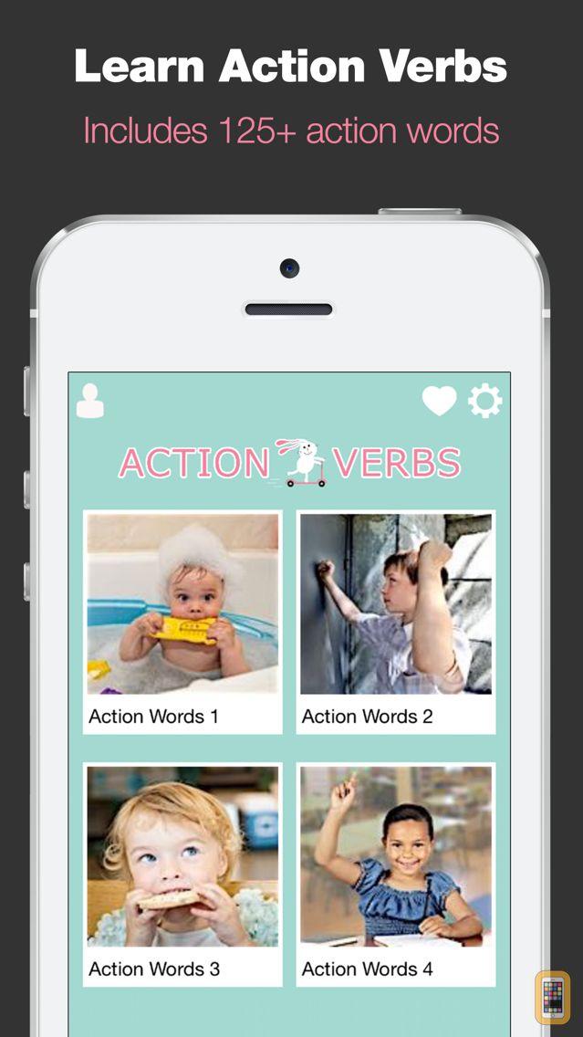 Screenshot - Action Verbs