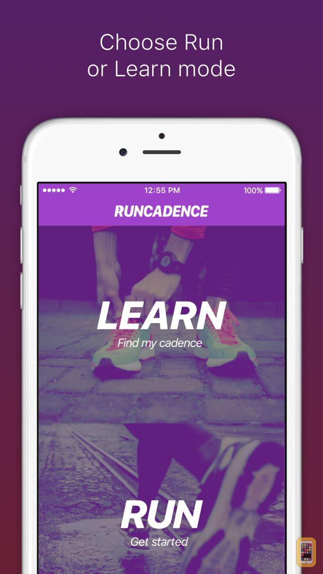 Screenshot - RunCadence Mobile