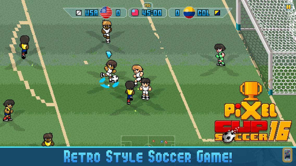 Screenshot - Pixel Cup Soccer 16