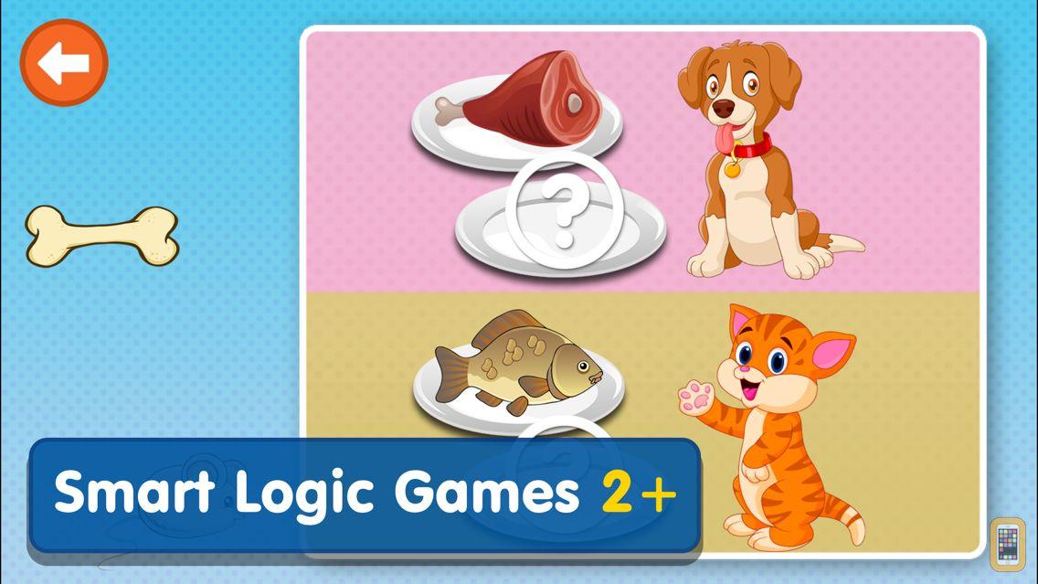 Screenshot - Smart Logic Games:Toddler Kids & Baby Learning App