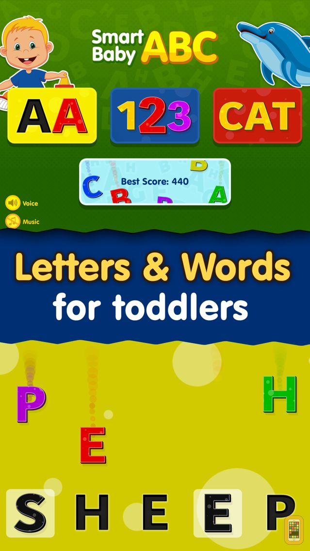 Screenshot - Smart Baby ABC Games: Toddler Kids Learning Apps