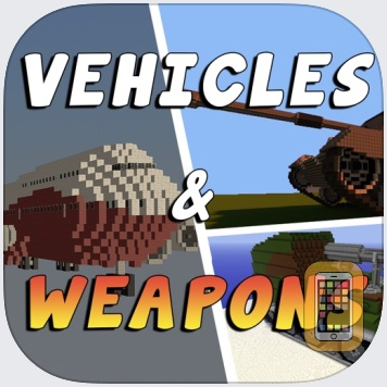 VEHICLES & WEAPONS MODS for Minecraft Pc Guide by Jewelsapps S. L. (Universal)
