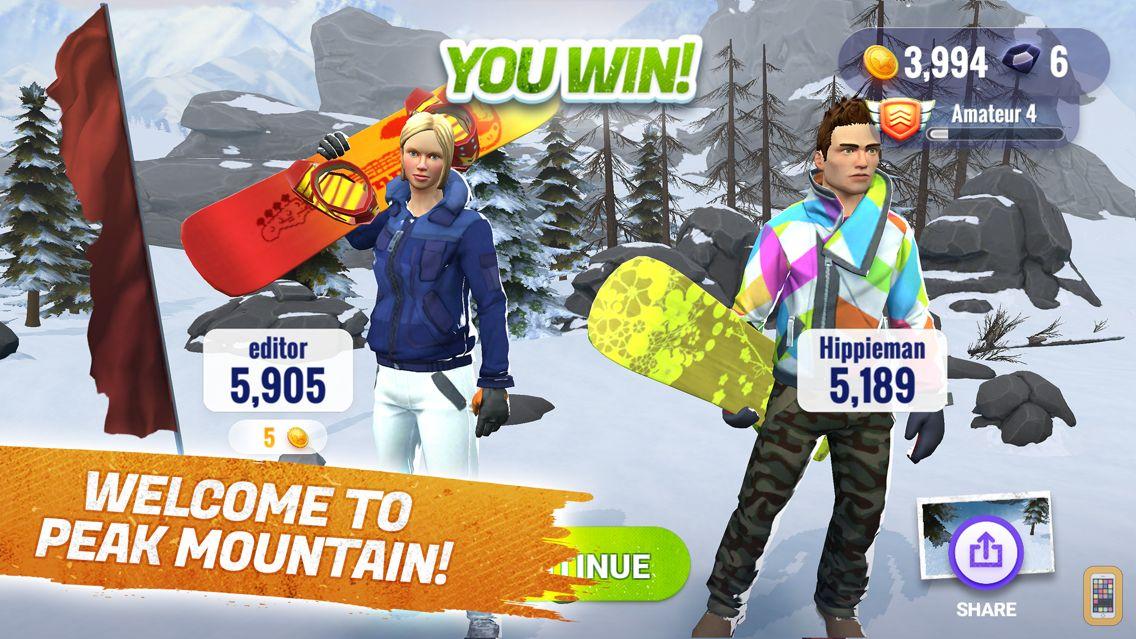 Screenshot - Peak Rider Snowboarding