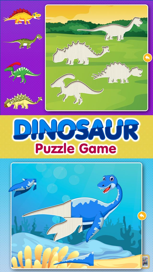 Screenshot - Dinosaur Games: Puzzle for Kids & Toddlers