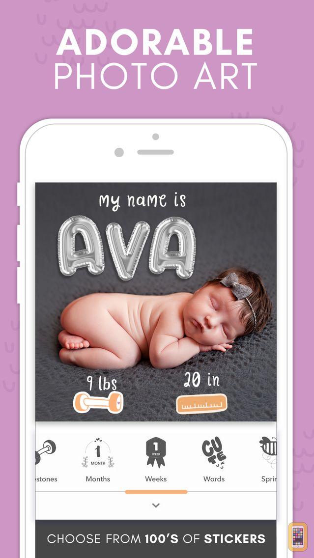 Screenshot - Precious - Baby Photo Art