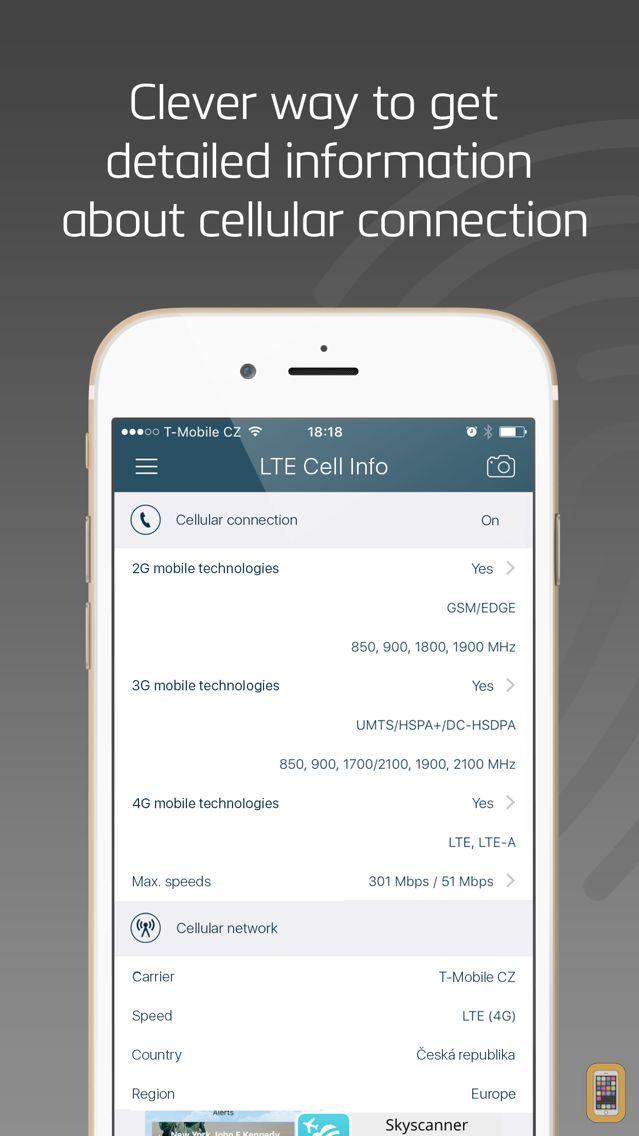 Screenshot - LTE Cell Info: Network Status