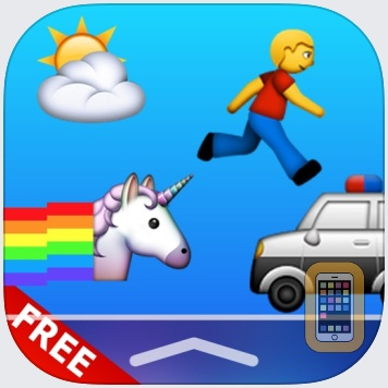 GameMoji Widget Games FREE - Featuring 8bit Pixel Jumping Ghost Game by Appventions (Universal)