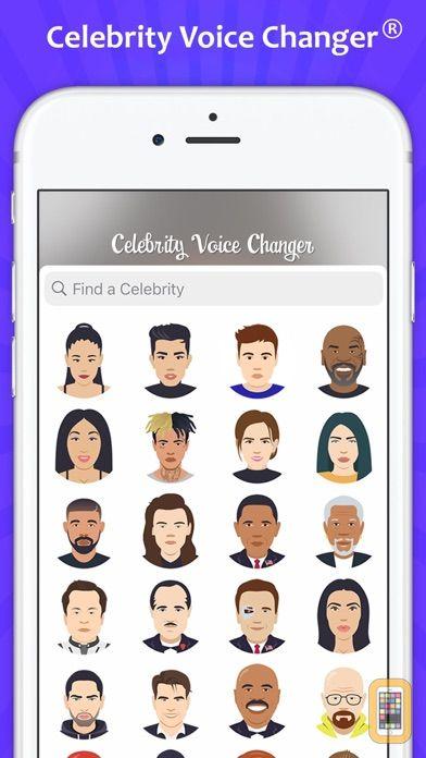 Screenshot - Celebrity Voice Changer - Face