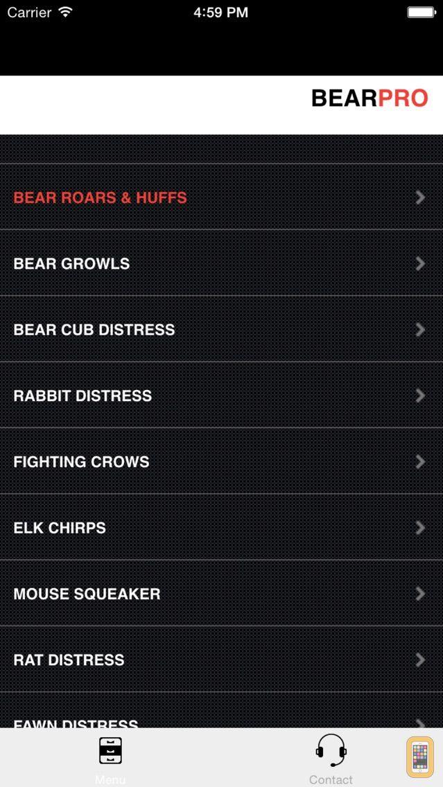Screenshot - REAL Bear Calls - Bear Hunting Calls - Bear Sounds
